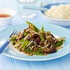 Een heerlijk recept: Snijbonen en shii-takes uit de wok