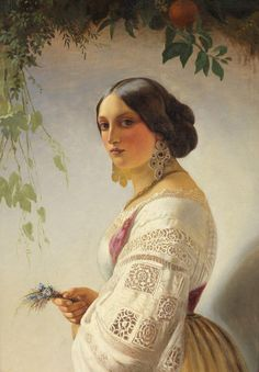 Carl von Neff Timoleon - 1804/1877 - Pintor Russo.