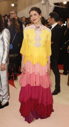 charlotte casiraghi PHOTOS. Les plus belles robes du Met gala 2016