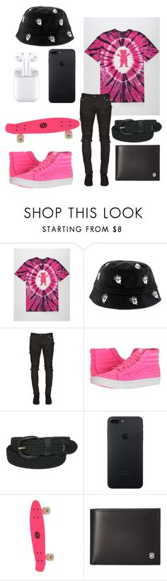 """""""P"""" by vejacomotenpovoa ❤ liked on Polyvore featuring Balmain, Vans, Victorinox Swiss Army, men's fashion and menswear"""