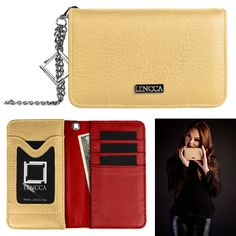 Lencca Kymira Women's Wallet Clutch for ZTE Axon Pro / Axon Lux / Axon Elite. A collective interpretation of a versatile wallet that is organized and able to seamlessly transition end uses. The Kymira is soft to the touch, and combines function with convenient design. The Kymira was created using two of Lencca's prime materials. Both materials are simple to maintain and weather resistant. The exterior actively repels liquids without absorbing a single drop, while the interior creates…