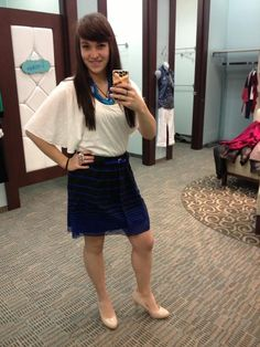 This outfit is great for going out or going to the office <3