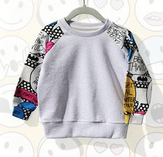 Super Hero Sweatshirts for girls alternative kids clothing at colormewhimsy 1