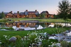 A Rustic Estate For Sale in Big Sky Country