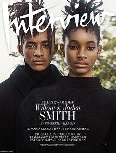Willow e Jaden Smith em looks fantsticos clicados por Steven Klein  Fragmentos de Moda