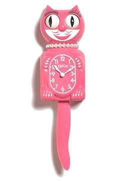Kit-Cat Lady Cat Pendulum Clock available at #Nordstrom