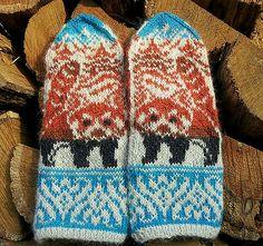 Ravelry: Red Pandas & Pagodas pattern by Natalia Moreva