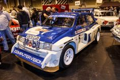 MG Metro 6R4. Group B rallying legend. 2013 Lancaster Insurance Classic Motor Show NEC, Birmingham