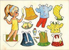 muñecas recortables, paper dolls, Бумажные куклы , bambole da carta, poupées en papier, 纸娃娃