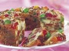 White Fruitcake Recipe