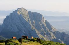 The Natural Park of Urkiola, Basque Country, Spain