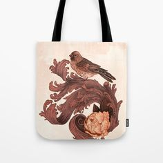 Check out society6curated.com for more! I am a part of the society6 curators program and each purchase through these links will help out myself and other artists. Thanks for looking! @society6 #illustration #design #tote #totebag #bags #fashion #style #men #women #buy #shop #shopping #sale #gift #idea #cute #cool #nice #unique #fun #gift #idea #cool #buyart #artforsale #brown #leaf #leaves #bird #birds #animal #wildlife #nature #animals #white