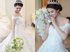 The prettiest bride  marian rivera