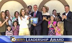 We are happy to announce that Dr. Mohnacky has been honored with the 10News Leadership Award for the Helping Paws Military Appreciation Program! Visit http://HelpingPawsSanDiego.com to learn more about the program!