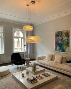Living Room Inspiration, Interior Design Inspiration, Home Interior Design, Interior Architecture, Interior Decorating, Living Room Modern, Living Spaces, Living Rooms, Architectural Design House Plans