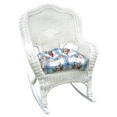 Found it at Wayfair - Monaco Wicker Rocking Chair Double Rocking Chair, Wicker Rocking Chair, Outdoor Rocking Chairs, Wicker Chairs, Wicker Furniture, Patio Chairs, Pink Chairs, Outdoor Furniture, Wicker Rocker