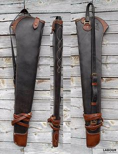 Gun Holster, Leather Holster, Leather Tooling, Leather Tool Pouches, Rifle Bag, Custom Leather, Handmade Leather, Lever Action Rifles, Leather Projects