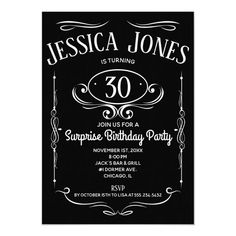 Change The Date Wedding Postponed Elegant Script Postcard Surprise Birthday Invitations, Birthday Party Celebration, Zazzle Invitations, Invites, Invitation Templates, Shower Invitations, 30th Birthday For Him, 90th Birthday, Birthday