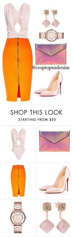 Sorbet by croptopsndenim on Polyvore featuring River Island, Boohoo, Christian Louboutin, Rebecca Minkoff, Marc Jacobs and Michael Kors