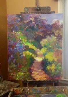 """Spring Path"" 20x16"