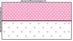 Imprimibles en colores 7, rosa y blanco.