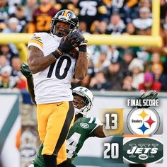 Excuse me! 11/9/14  Via The Pittsburgh Steelers  · ·     Final Score: Steelers fall 20-13 to the Jets.
