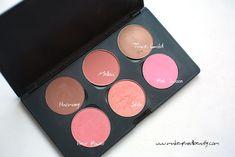 mac blush palette - medium skin tone