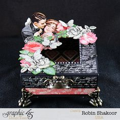 Mon Amour Mixed Media Box, Mon Amour, by Robin Shakoor, Product by Graphic 45, Photo 1