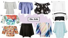 The Edit: 10 Off-the-Shoulder Tops That Look Good With Anything