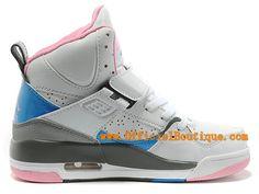 free shipping 92ac9 2bf29 Air Jordan Flight 45 High GS 2015 - Chaussures Jordan Pas Cher Pour Femme  Blanc