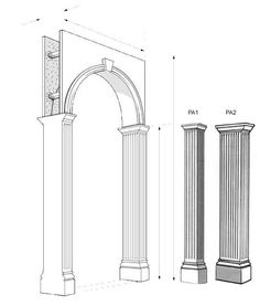 Arches and Pilasters | Stevensons of Norwich
