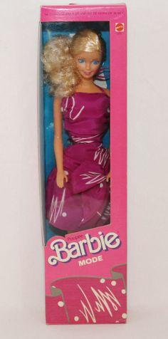 1987 Fashion Play Barbie #7291