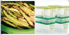 Asparagus in the Smart steamer! Www.michelleathome.com   Drizzle with olive oil or butter, with fresh ground pepper  sea salt  micro 6 minutes #seasalt #steamer #asparagus Tupperware Recipes, Steamer Recipes, Sea Salt, Asparagus, Great Recipes, Olive Oil, Food To Make, Cooker