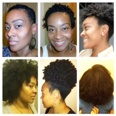Remarkable Big Chop To 6 Months Nice Hair Growth Bald Or Twa Natural Short Hairstyles For Black Women Fulllsitofus