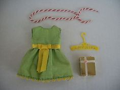 Vintage Barbie Skipper Young Ideas Dress Present Rope Sears Exclusive