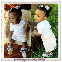Black babies are just the cuuutest.