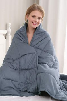 Heavy Blanket, Chunky Blanket, Gravity Blanket, Mental Health Diagnosis, Stress Busters, Cooling Blanket, Sleep Quality, Pressure Points