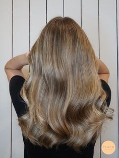 Idag har jag fått tagit hand o Curls For Long Hair, Wavy Hair, Dyed Hair, Blonde Hair Looks, Light Brown Hair, Balayage Hair, Gorgeous Hair, Cleveland, Hair Inspiration