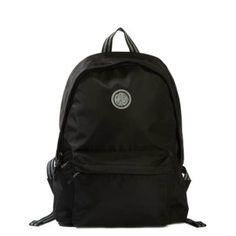 Pretty Backpacks Black #backpack #ideas #diy Cute Girl Backpacks, Pretty Backpacks, Green Backpacks, Cute Black Backpack, Black Leather Backpack, Rucksack Backpack, Backpack Purse, College Bags, Computer Bags