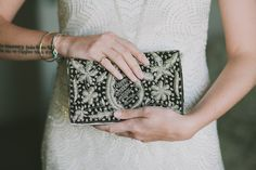 beaded clutch // photo by Fondly Forever