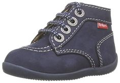 Kickers Unisex-Baby Kick COL Lauflernschuhe, braun, for Women Kickers, Unisex, Babys, High Tops, High Top Sneakers, Shoes, Fashion, Electric Blue, Mens Winter Boots