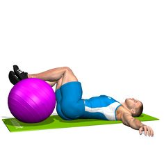 HIP ROTATION WITH FITBALL