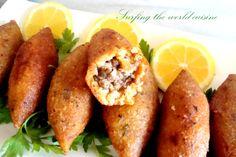 Another common food Lebanese, Greek, Armenians  & Turkish share Köfte