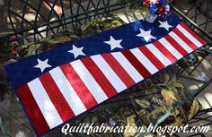 Patriotic Wave Table Runner Pattern available at: http://www.craftsy.com/pattern/quilting/home-decor/patriotic-wave-table-runner/152436?fresh=true&NAVIGATION_PAGE_CONTEXT_ATTR=PATTERN