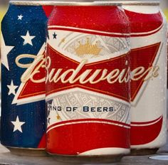 Budweiser supports military families through Folds of Honor.  #ThankYouKingofBeers!