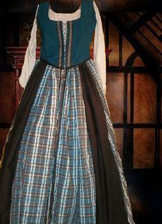Medieval Renaissance Costume Gown SCA Garb Scot by camelots0closet, $65.00