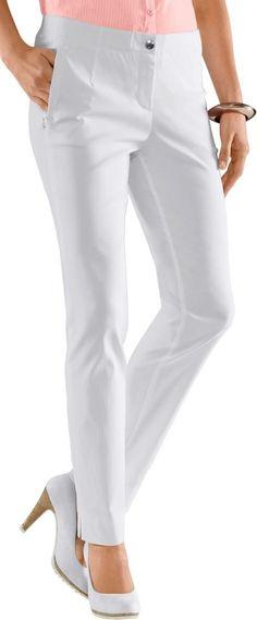 Stehmann Hose in hochwertiger Bengalin-Qualität ab 49,99€. Hose mit 2 Reißverschluss-Taschen, Viskose, Polyamid, Elasthan, Figurumschmeichelnde Form bei OTTO