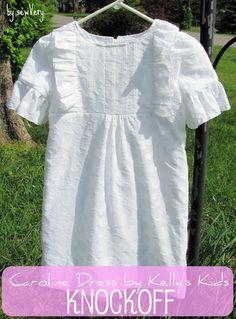 sewVery: Kelly's Kids Knockoff Dress Pattern