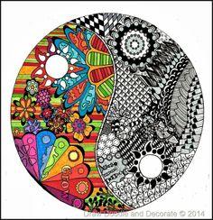 Yin….Yang….doodle