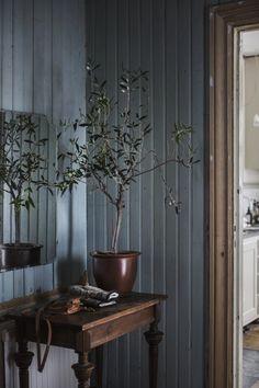 🌟Tante S!fr@ loves this📌🌟Hal tafeltje decoreren ✦ Keulse pot met plant ✦ sober wonen Interior Design Living Room, Interior Decorating, Home Decor Inspiration, Modern Rustic, Cheap Home Decor, Interior And Exterior, Home Remodeling, Decoration, Sweet Home